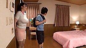 Crazy Japanese model Mizuki Miyuki in Amazing JAV uncensored Threesomes movie