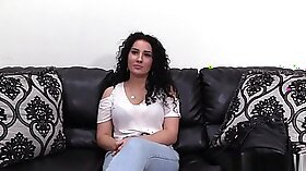 Classy eurobabe getting banged on casting