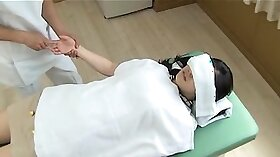 girls takes massage at hotel spy cam