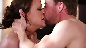 Blonde MILF Jennifer Love and her fellow fuck Mike Knight hot and very salty
