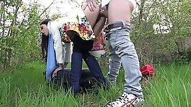 Curvy Russian Runaway Hot In Public Masseuse