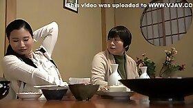 Cocksucking Japanese MILF Fucks Wife in cuckold