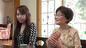 Japanese granny flogged roughly and undressed