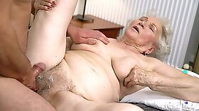 British granny and her red meat