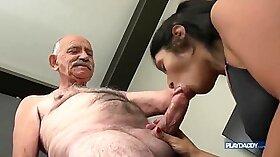 Big tit latina Annika Anaya brutally fucked after a lusty Asian Fuck