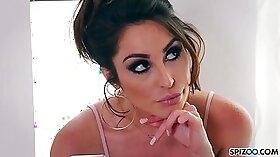 Big Tit In Lingerie Teases Webcam Model
