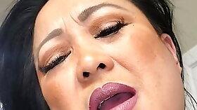 Curvy milf caught masturbating in hotel