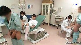 Doctor Deep Throates Asian Patient