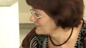 Pissing Latina granny stuffed in chichi