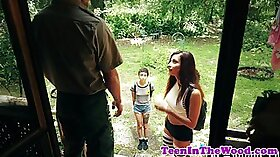 Carnival teen babes dream about a huge dick