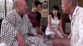 Swinger group fucking a young guy