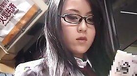 Athletic Japanese schoolgirl gets smashed