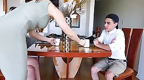 Lucky mama gets fucked by son