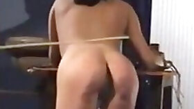 Spanking, Cane, Whipping, Slave Humiliation, Mistress, Kyra