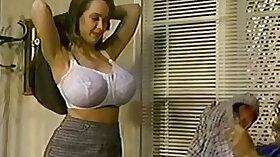 Chesty retro pornstar is happy to get fucked