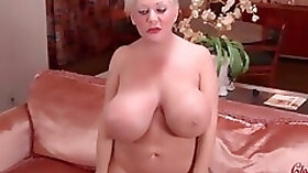 BBW gets her cunt fucked by multiple men and swalows