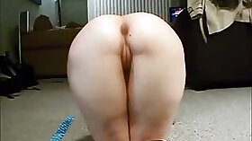 Amateur wife homemade anal sex with male Madelyn in action