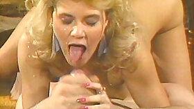 Classic pornstar Barbi looks onaut