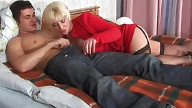 Asian step brother having sex with mom