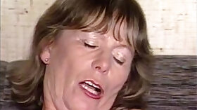 Busty granny getting cock deep