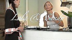 Blonde teen worship big natural tits Massage turns into wild lesbian sex
